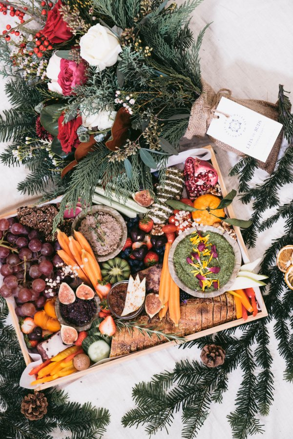 Holiday platter, platter vancouver, grazing board